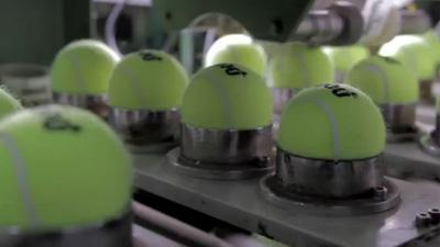 How Penn Tennis Balls Are Manufactured