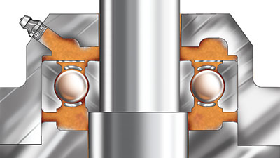 Lubrication strategies for electric motor bearings for Electric motor oil lubrication