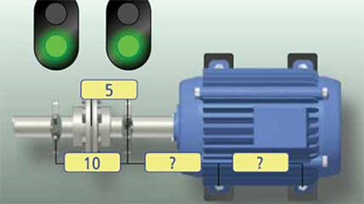 Precision shaft alignment is possible for Pump motor shaft alignment tools