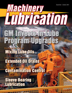 Machinery Lubrication - Cover - 9/2001