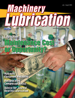 Machinery Lubrication - Cover - 7/2005