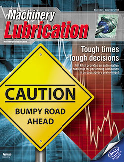 Machinery Lubrication - Cover - 11/2008
