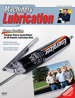 Machinery Lubrication - Cover - 11/2009