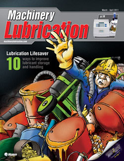 Machinery Lubrication - Cover - 3/2011