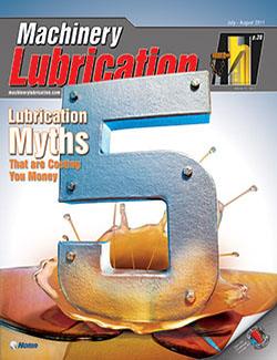 Machinery Lubrication - Cover - 8/2011