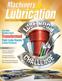 Machinery Lubrication - Cover - 10/2011