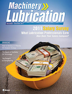 Machinery Lubrication - Cover - 11/2011