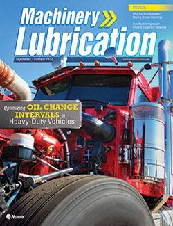 Machinery Lubrication - Cover - 10/2012