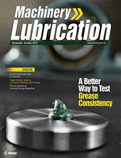 Machinery Lubrication - Cover - 10/2015