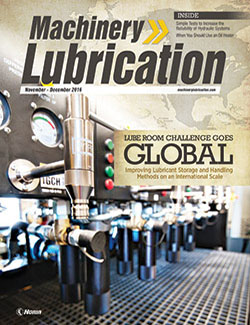 Machinery Lubrication - Cover - 12/2016