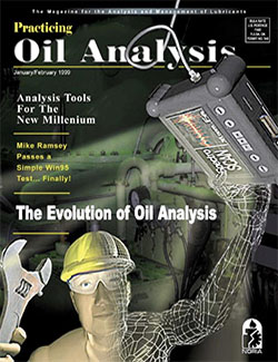 Practicing Oil Analysis - Cover - 1/1999