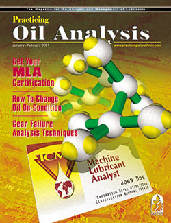 Practicing Oil Analysis - Cover - 1/2001