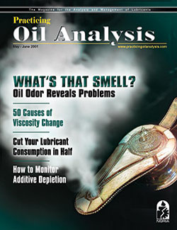 Practicing Oil Analysis - Cover - 5/2001