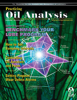 Practicing Oil Analysis - Cover - 11/2001
