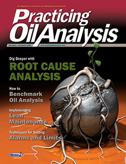Practicing Oil Analysis - Cover - 11/2002