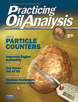 Practicing Oil Analysis - Cover - 7/2003
