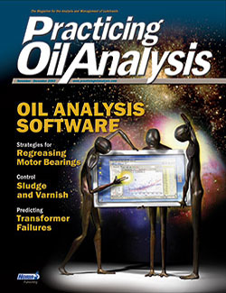 Practicing Oil Analysis - Cover - 11/2003