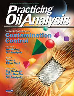 Practicing Oil Analysis - Cover - 7/2004