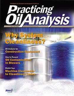 Practicing Oil Analysis - Cover - 5/2005