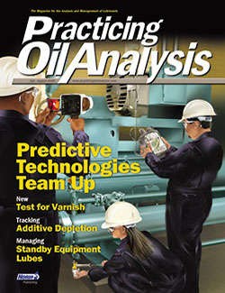 Practicing Oil Analysis - Cover - 7/2005