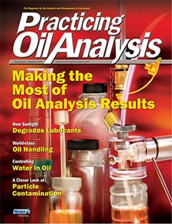 Practicing Oil Analysis - Cover - 9/2005