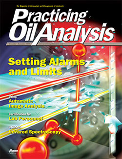 Practicing Oil Analysis - Cover - 11/2005