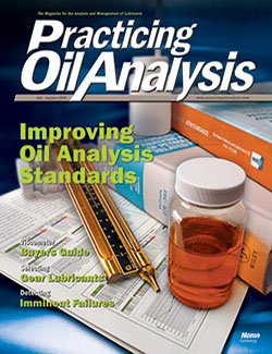 Practicing Oil Analysis - Cover - 7/2006