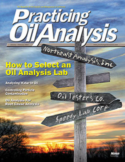 Practicing Oil Analysis - Cover - 1/2007