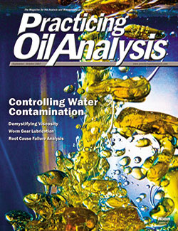 Practicing Oil Analysis - Cover - 9/2007
