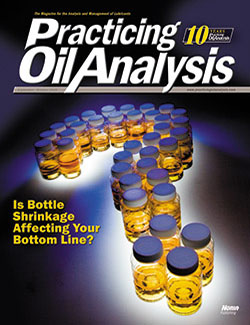 Practicing Oil Analysis - Cover - 9/2008